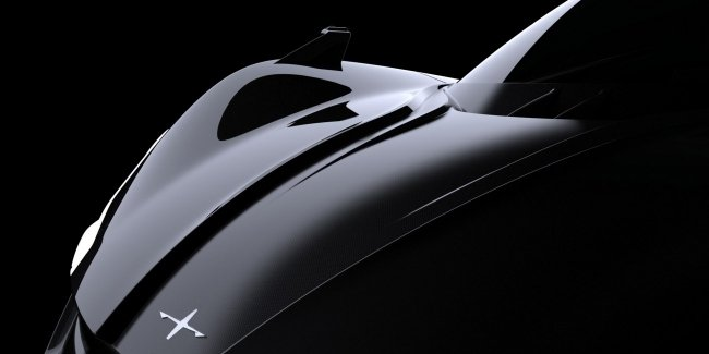 New electric supercar Apex did look like a dragon
