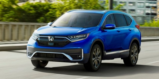 Honda has revealed prices for a hybrid version of the crossover CR-V 2020