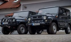 """UAZ """"hunter"""" was turned into an electric car"""
