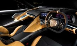 Chevrolet showed the Corvette interior right hand drive