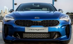 KIA Stinger got the special version with a light interior nappa leather