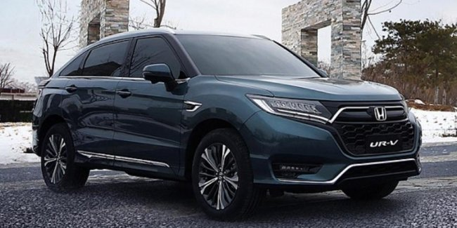 By the end of March the Chinese get a facelifted cross-coupe Honda UR-V