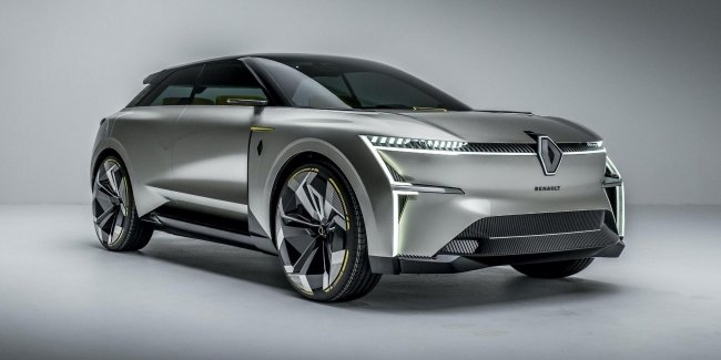 Renault made a car with sliding body