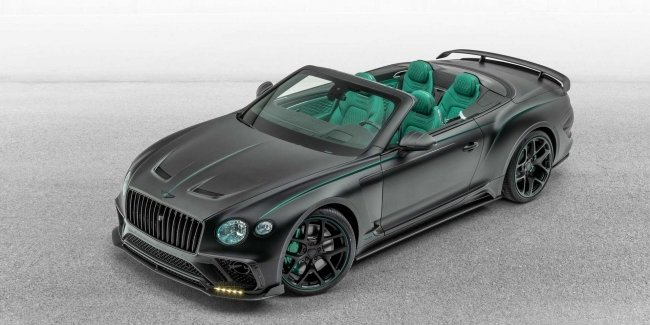 Atelier Mansory showed a strange version of the Bentley Continental GT