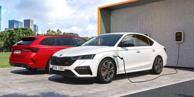 Skoda presented the new Skoda Octavia RS iV