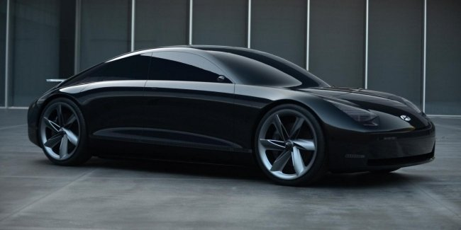 """Hyundai introduced the """"prophetic"""" electric concept without a rudder"""