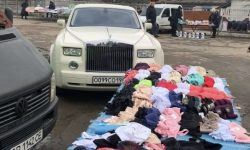 In Zhytomyr on the market noticed the potato Rolls-Royce