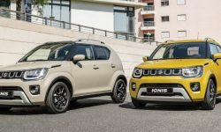 Presented updated crossover Suzuki Ignis