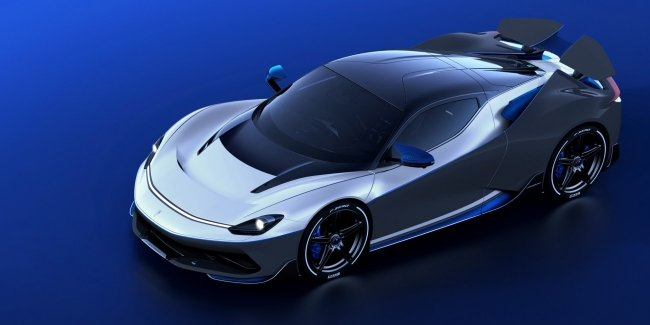 Battista Anniversario coupe dedicated to the 90th anniversary of Pininfarina