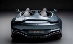 Aston Martin presented the V12 limited edition Speedster