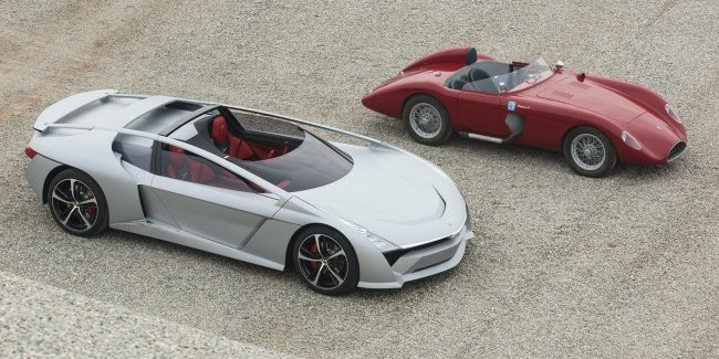 """The founder of Italdesign built electric hypercross and Roadster with """"halo"""""""