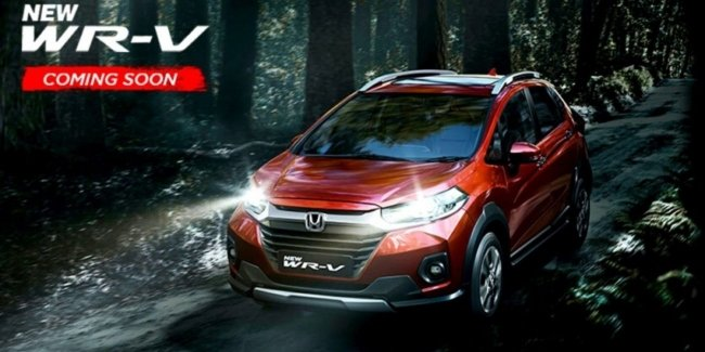 Honda has presented updated crossover WR-V