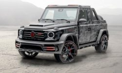 Mercedes-Benz G-Class turned into two-door pickup
