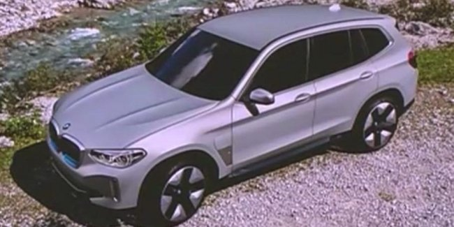Revealed the design of the production BMW X3 battery