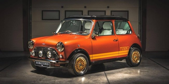 "Classic MINI ""turned"" in the Lotus of the film about James bond"