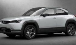 Mazda called the price of its first electric car