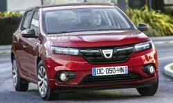 Published the first images of the new Dacia Sandero