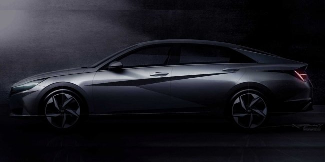 Hyundai revealed the design of the new Elantra on video