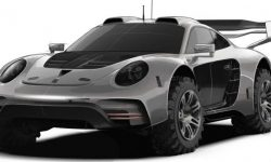 Atelier Gemballa showed off-road version of the legendary Porsche 911