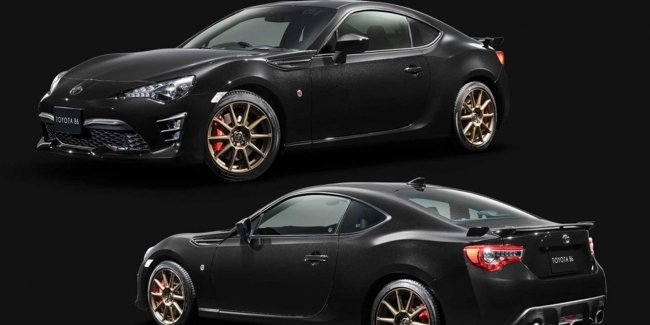 Sporty Toyota 86 has received the exclusive version Black Limited