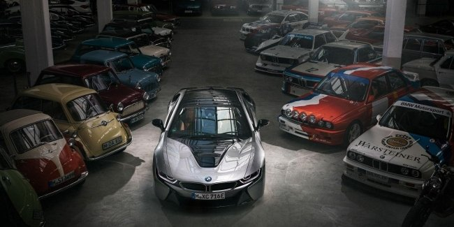 It became known when the pipeline will descend the last of the BMW i8
