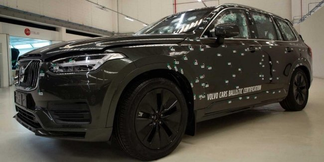 All Volvo SUVs armored steel