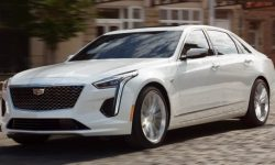 The successor of the flagship sedan Cadillac CT6 will get an electric motor