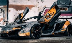 Chernobyl was lit unique tuned supercar McLaren