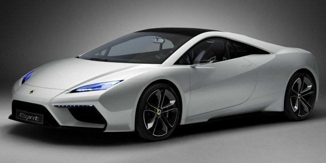 Lotus could revive the supercar Esprit