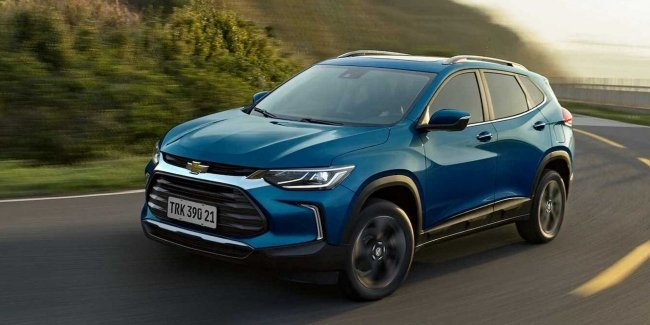 "New Chevrolet Tracker: added a range of ""turbotrain"" and the classic ""automatic"""