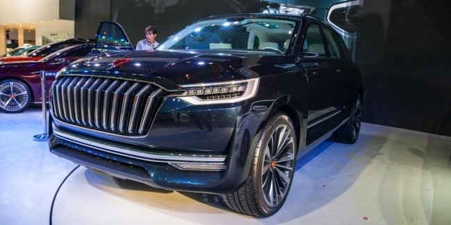 In China sales of Hongqi cars have soared by more than half