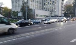 What roads in Kiev was closed for repairs
