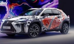 Lexus introduced the world's first tattooed car