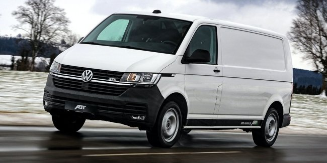 Studio ABT has circulated electric van e VW-Transporter 6.1