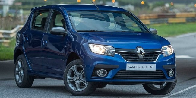 "Renault presented the ""sports"" package Sandero GT Line"