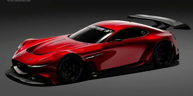 Rotary Mazda showed a concept but only for virtuality