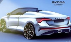 Skoda has released images hatchback Scala, it is now a Roadster