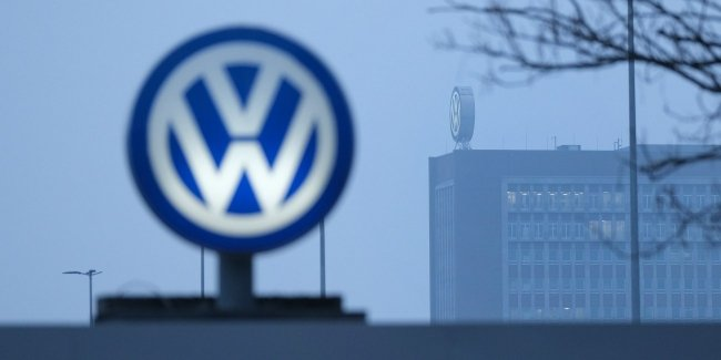 The Volkswagen preparing for the really long work stoppage