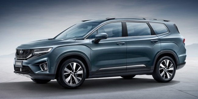 Geely has submitted a large seven-seat SUV HaoYue