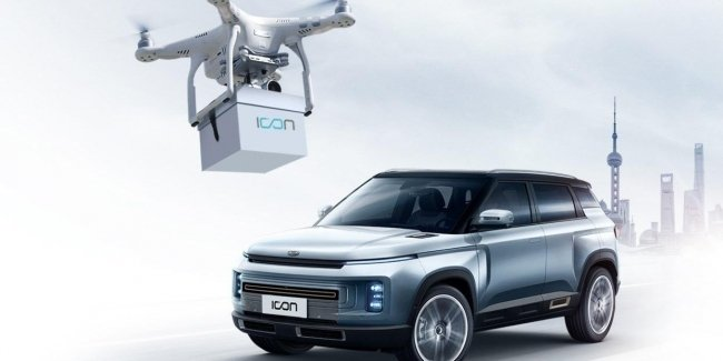 Using coronavirus keys to the buyers of Geely now delivering drones