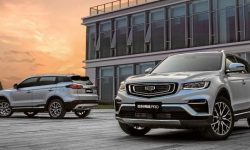 SUV Geely Atlas Pro will get a new type of all-wheel drive