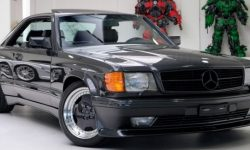 Rare Mercedes-Benz coupé of 1989 in perfect condition put up for sale
