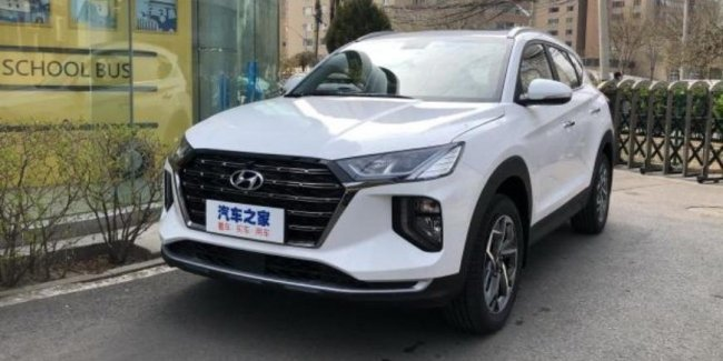 Hyundai presented the updated Tucson crossover for the Chinese market