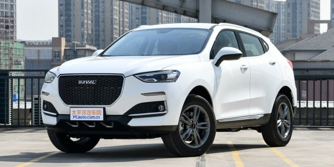 Updated Haval F5 appeared at dealers in China