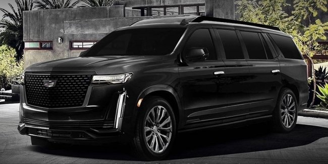 The first photos of the luxury SUV Cadillac for deputies and oligarchs