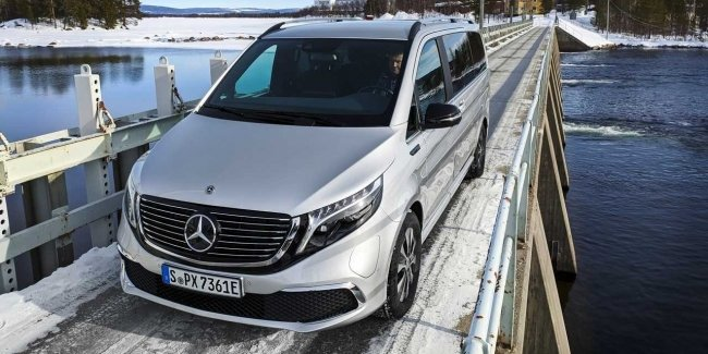 New Mercedes EQV passed the Arctic tests