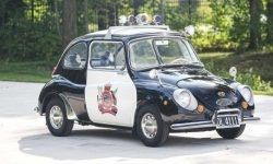 Cutest police car put up for sale