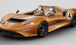 In memory of the first orange McLaren has built a unique supercar