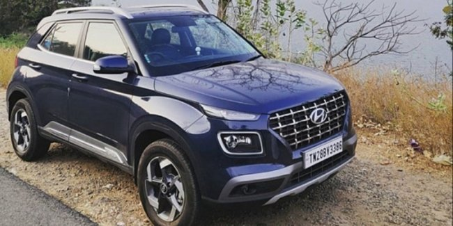 Hyundai introduced a crossover Venue in the new version