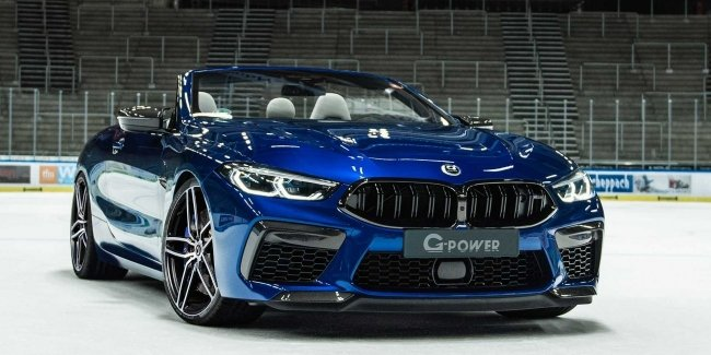 Atelier G-Power presented the 820-strong version of the BMW M8
